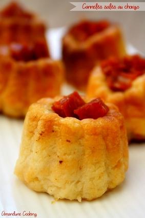 Recette de cannelés au chorizo et parmesan