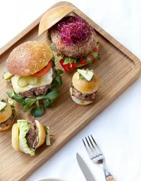 Veggie burger aux haricots rouges pour 6 personnes