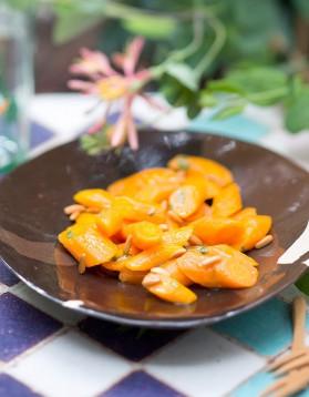 Salade de carottes au jus d'orange pour 6 personnes