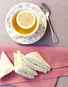 Sandwichs au concombre et cream cheese pour 6 personnes ...