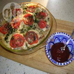 Recette gratin de pâtes au jambon et fromage – toutes les recettes ...