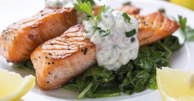 Recette de vert de blettes au saumon vapeur
