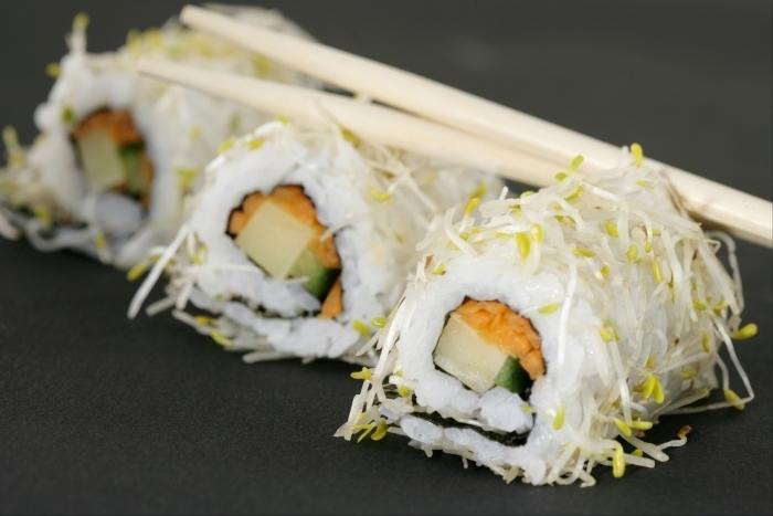 Recette de california maki végétarien facile