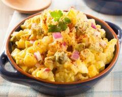 Recette salade de pommes de terre aux épices