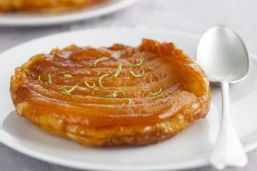 Recette de tatin de mangues caramélisées au citron vert facile et ...