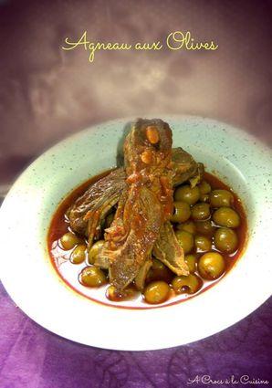 Recette agneau aux olives