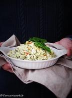 Recette de risotto épinards chèvre noisettes sans riz
