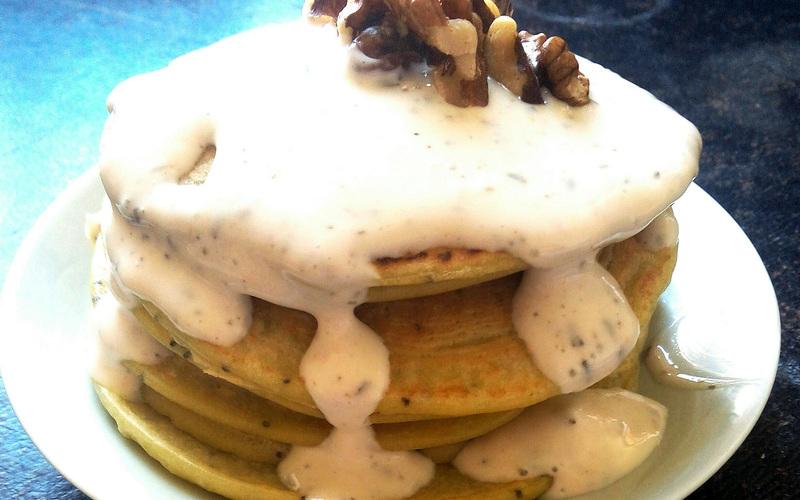 Recette pancakes citron-pavot sans beurre pas chère et facile ...