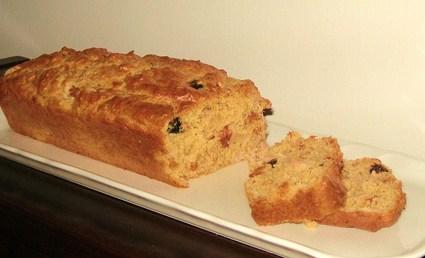 Recette de cake thon, tomates, olives