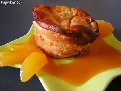 Recette de clafoutis abricots-miel