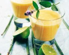 Recette smoothie coco-mangue