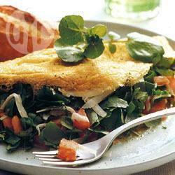 Recette omelette fourrée au cresson – toutes les recettes allrecipes