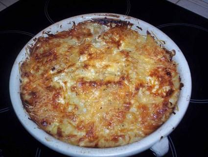 Recette de gratin de chou et pommes de terre