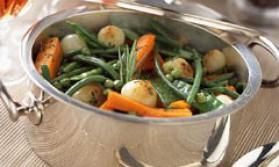 Jardinière de petits légumes pour 4 personnes