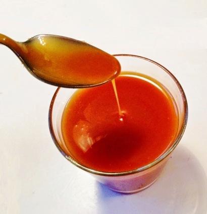 Sauce caramel sans beurre au micro-ondes