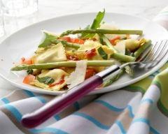 Salade de ravioles aux légumes printaniers | cuisine az