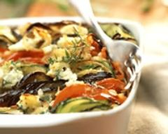 Recette tian de légumes à la ricotta