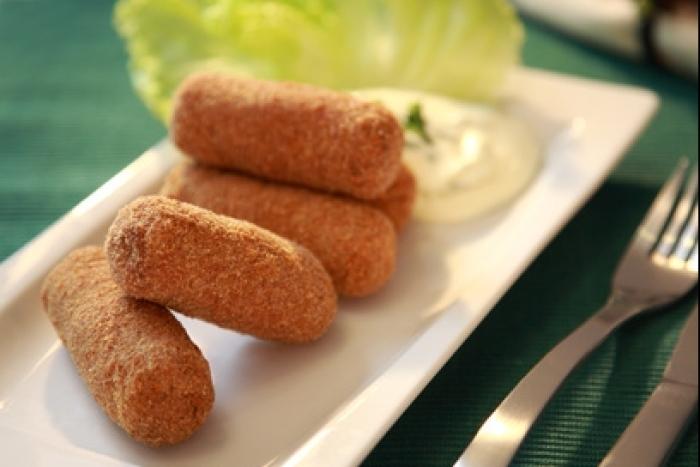 Recette de croquetas : bouchées croustillantes jambon/fromage facile