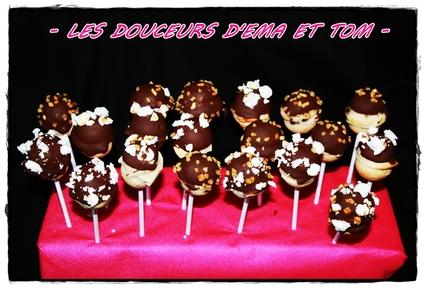 Recette de cake pops cookies