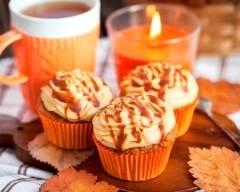 Recette cupcakes à la pomme et au caramel