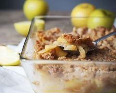 Recette crumble aux pommes simple et rapide