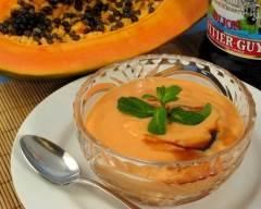 Recette crème de papaye
