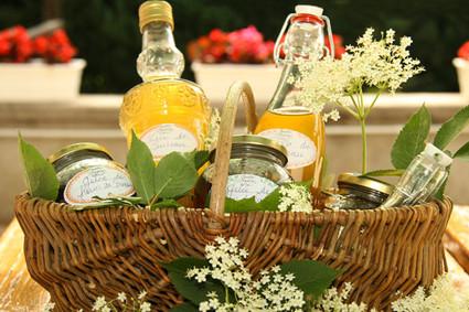 Recette de vin de fleurs sureau, sirop de fleurs sureau