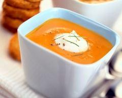 Recette soupe de carottes