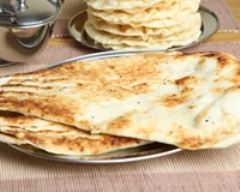 Recette naan indien au fromage