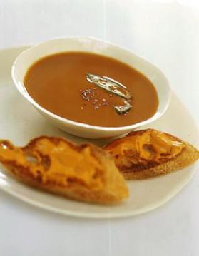 Soupe de poissons comme à marseille pour 4 personnes