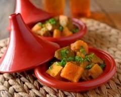 Recette tajine de poulet aux patates douces