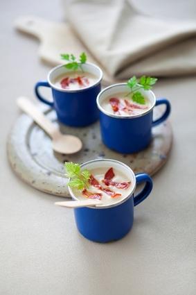 Recette de velouté de chou-fleur au chorizo