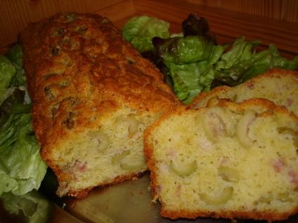 Recette de cakes olives-lardons