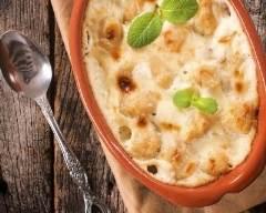 Recette gratin de gnocchis aux 3 fromages