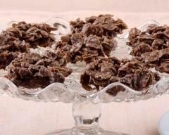 Recette rose des sables au chocolat au lait