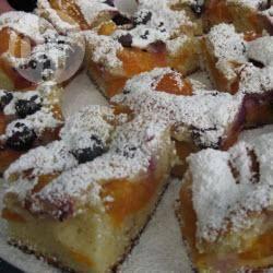 Recette gâteau à l'abricot et aux myrtilles – toutes les recettes ...