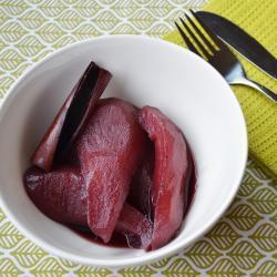 Recette poires pochées au vin rouge – toutes les recettes allrecipes