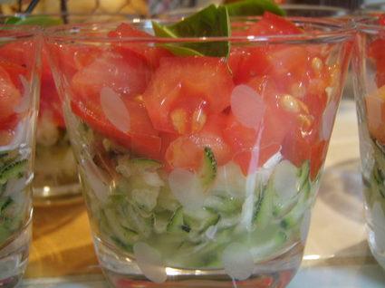 Recette de salade douce et croquante
