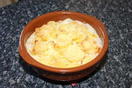 Recette de gratin fondant de pommes de terre