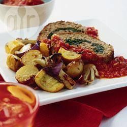 Recette pain de viande farci aux épinards – toutes les recettes ...
