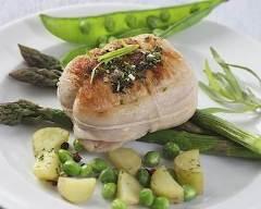 Recette paupiettes de veau aux petits légumes