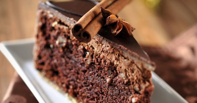Recette de moelleux au chocolat noir et à la cannelle