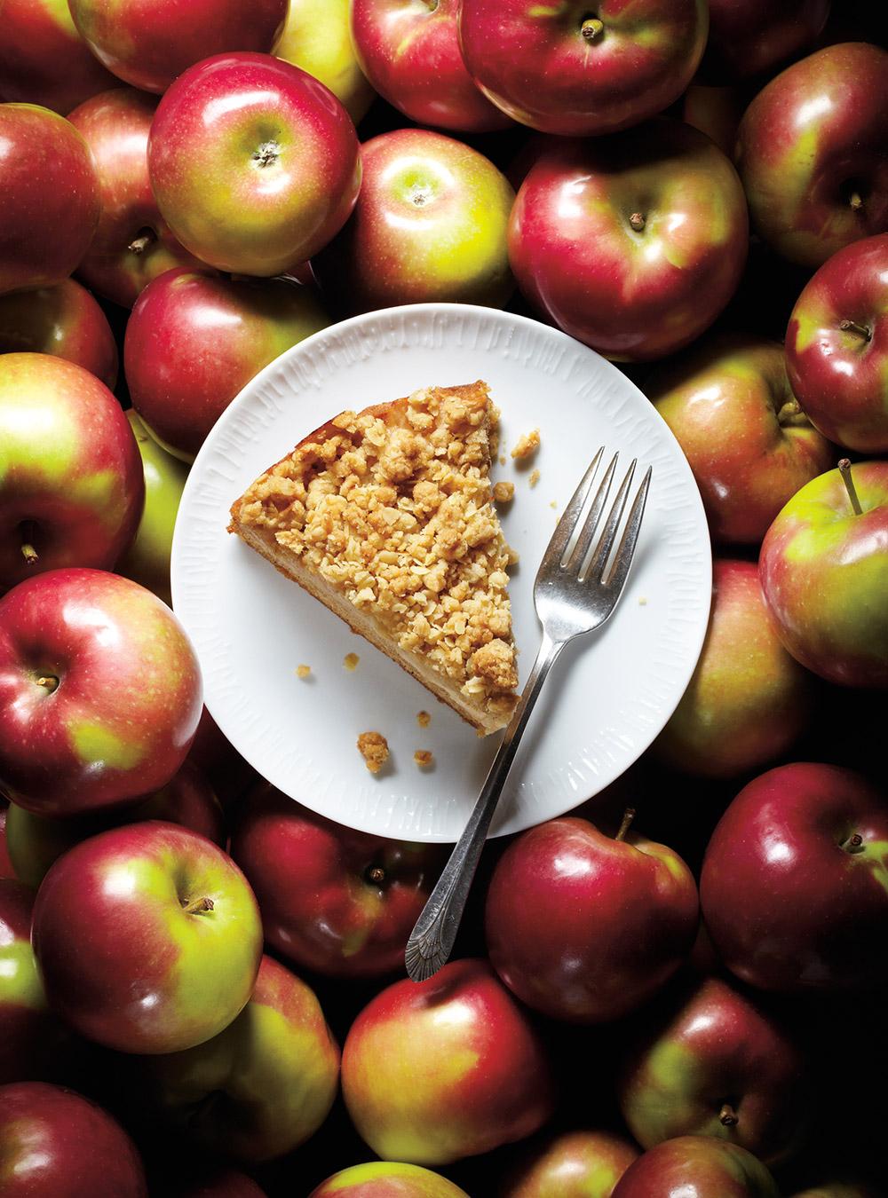 Gâteau «crumble» aux pommes | ricardo