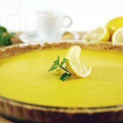 Recette tarte doublement citronnée – toutes les recettes allrecipes