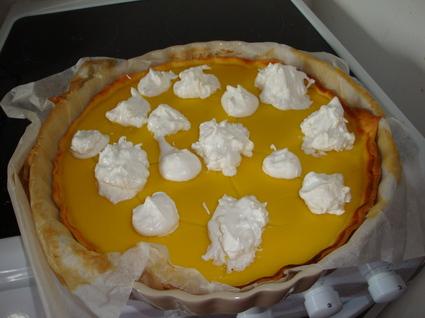 Recette de tarte au citron sans beurre ni crème