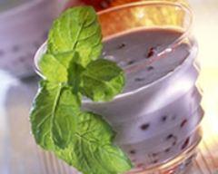 Recette soupe de grenades au lait de coco