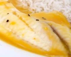 Recette filets de cabillaud, sauce à la mangue