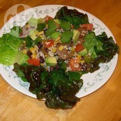 Recette salade de riz à la mexicaine – toutes les recettes allrecipes