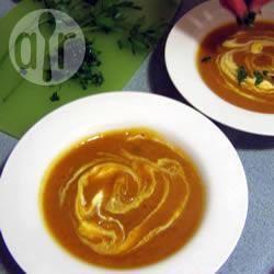 Recette soupe à la courge et au curry – toutes les recettes allrecipes