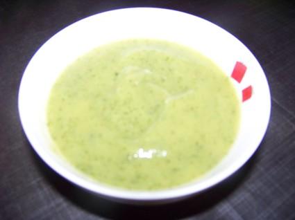 Recette de soupe légère à la courgette